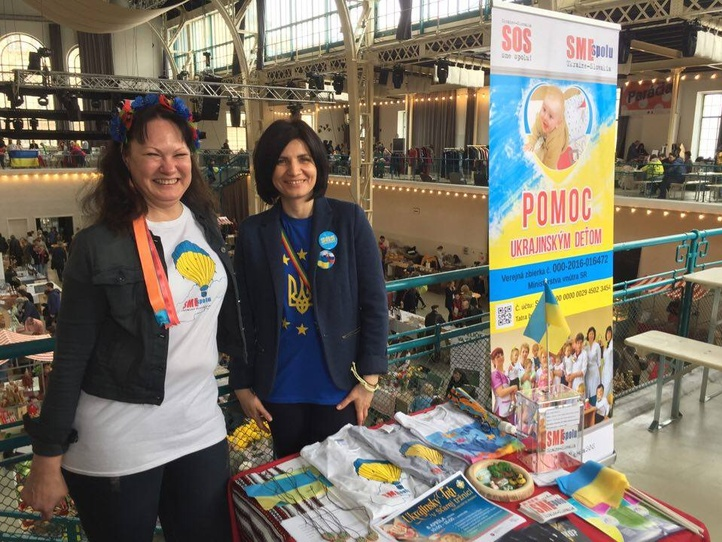 The First Charity Ukrainian Market in Bratislava