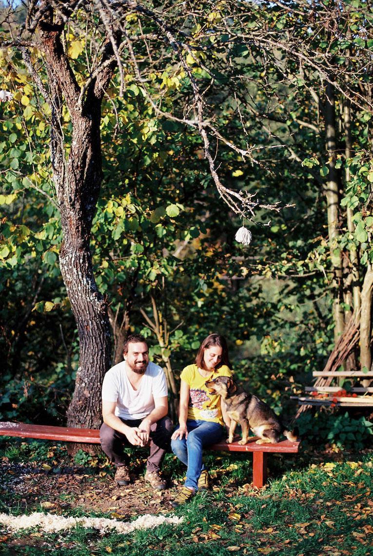 Autori a realizátori projektu Včelí kRaj Soňa a David